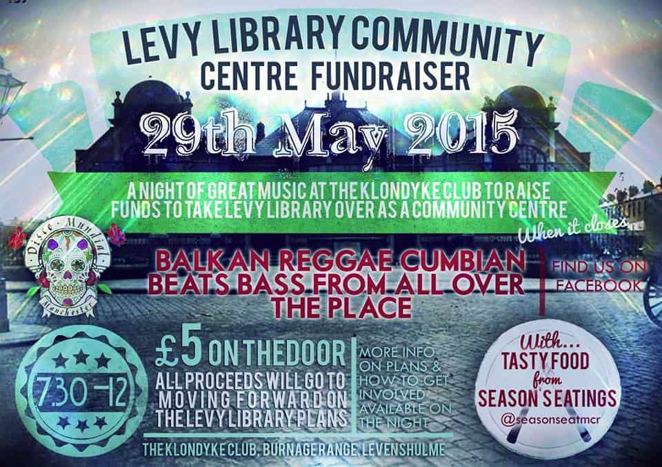 Library benefit poster