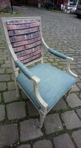 decourcey designed and upcycled reading chair