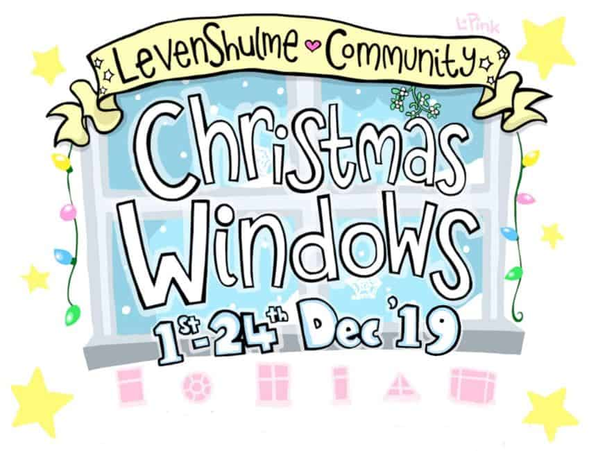 Levenshulme Community Christmas Windows