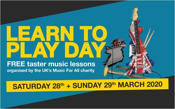 Learn to play day flyer