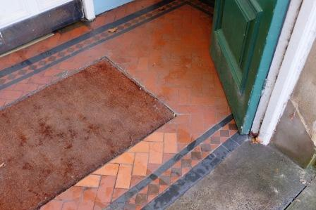 entranceway floor tiles