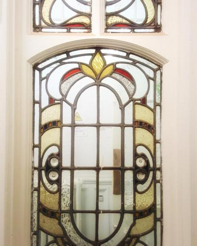 levy old library internal leaded window
