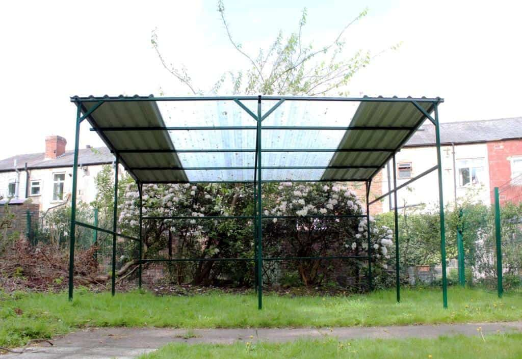 Outdoor Covered Activity Space at LOL
