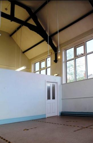 The Studio: Another light and airy space.